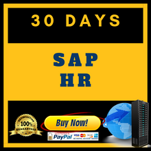 SAP HR 30 DAYS