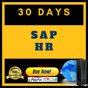 SAP HR (30 Days)