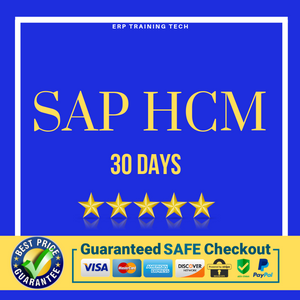SAP HCM 30 DAYS