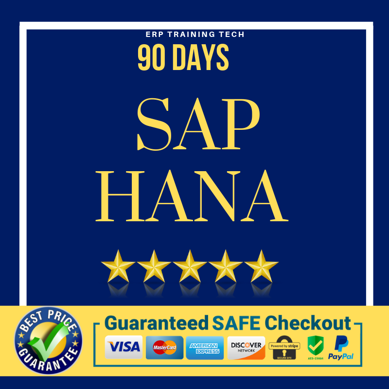 *SAP HANA 90 DAYS