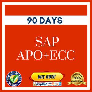 *SAP APO + ECC (90 Days)