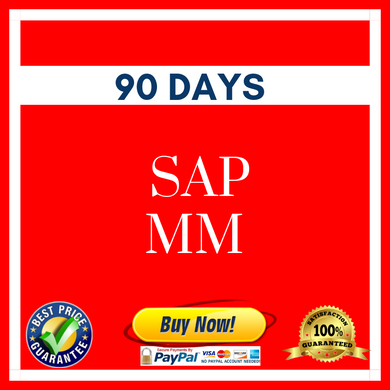 SAP MM 90 DAYS