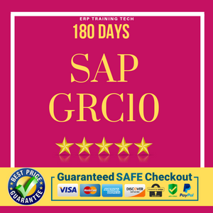 SAP GRC10 180 DAYS