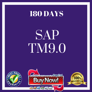SAP TM9.0 (180 Days)