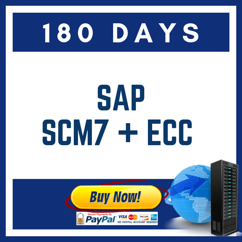 SAP SCM7 + ECC 180 DAYS