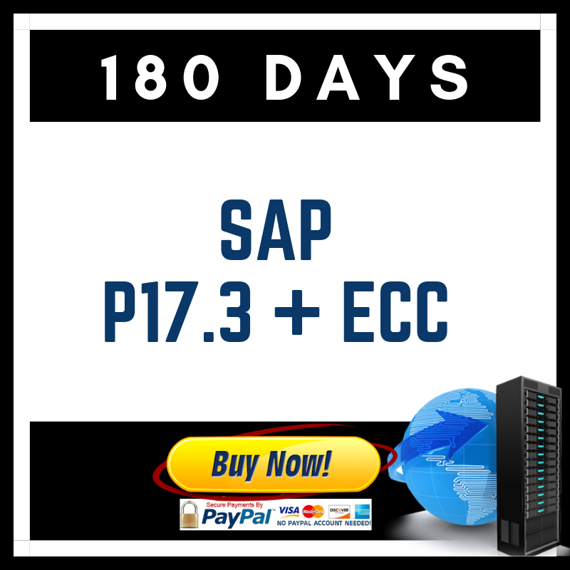 SAP  P17.3 + ECC (180 Days)