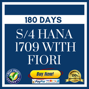 S/4 HANA 1709 with Fiori - 180 Days