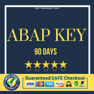 ECC6 EHP7 with ABAP - 90 Days