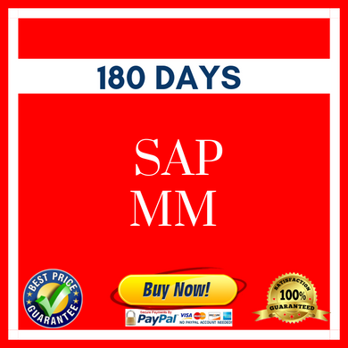 SAP MM 180 DAYS