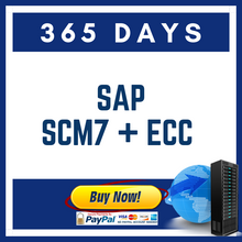 Load image into Gallery viewer, SAP SCM7 + ECC 365 DAYS
