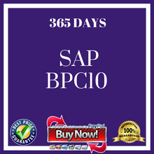 SAP  BPC10 365 DAYS