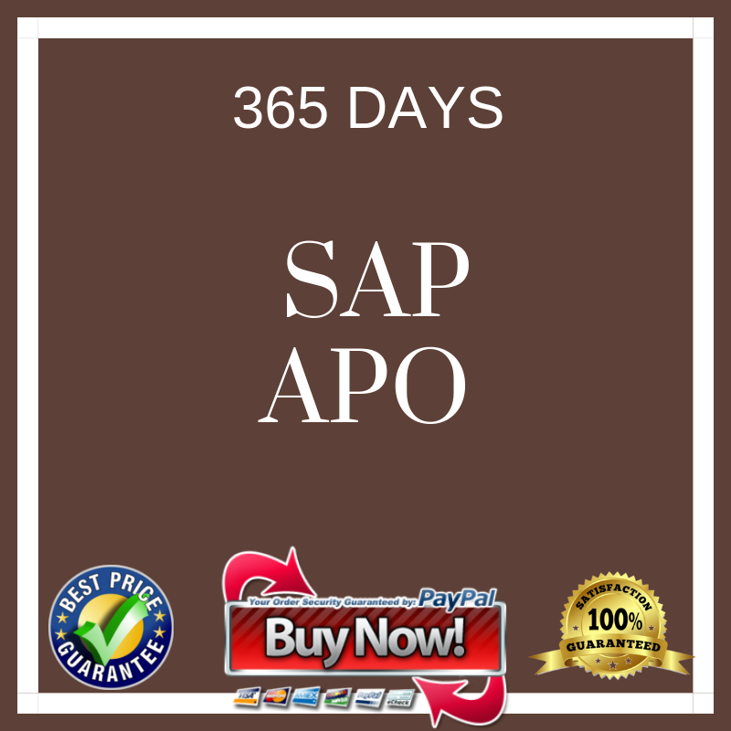 SAP APO 365 DAYS