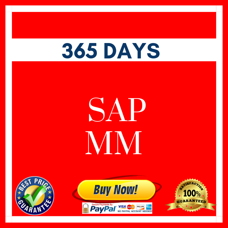 SAP MM 365 DAYS
