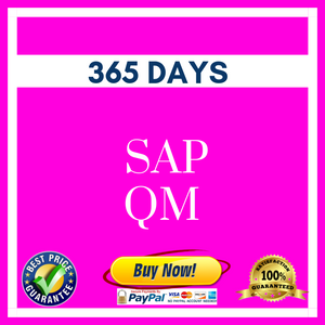 SAP QM 365 DAYS