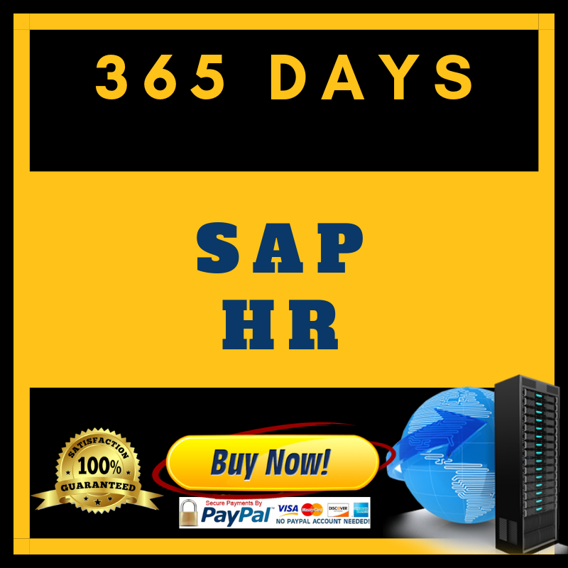 SAP HR (365 Days)