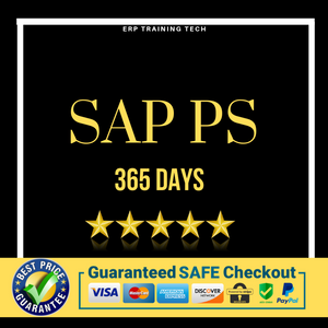 SAP PS 365 DAYS