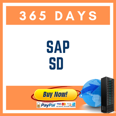 SAP SD 365 DAYS