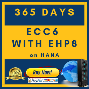 ECC6 with EHP8 on HANA - 365 Days
