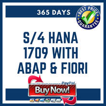 S/4 HANA 1709 with ABAP & Fiori 365 Days