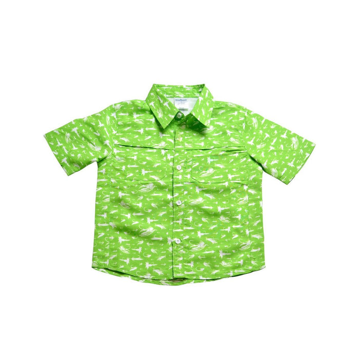 SHORT SLEEVE OUTDOOR SHIRT - SUPER FLY - Made by McNamara