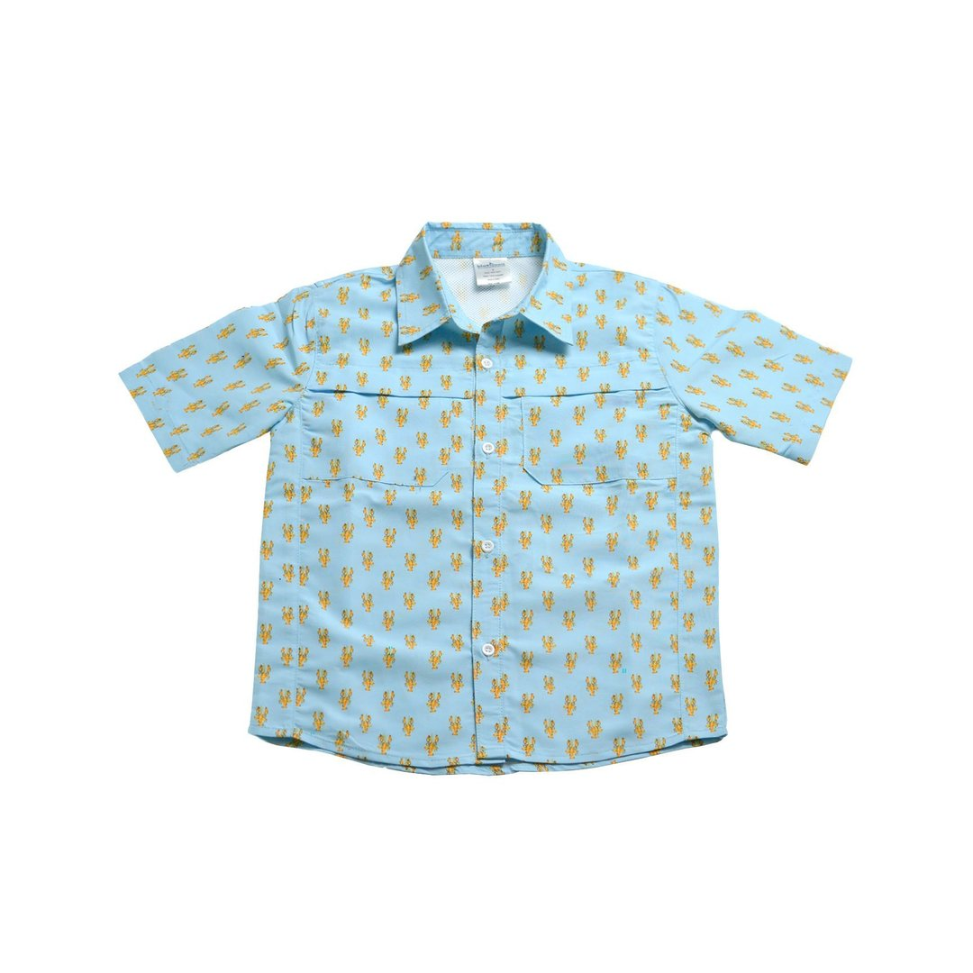 SHORT SLEEVE OUTDOOR SHIRT - CRAWFISH - Made by McNamara
