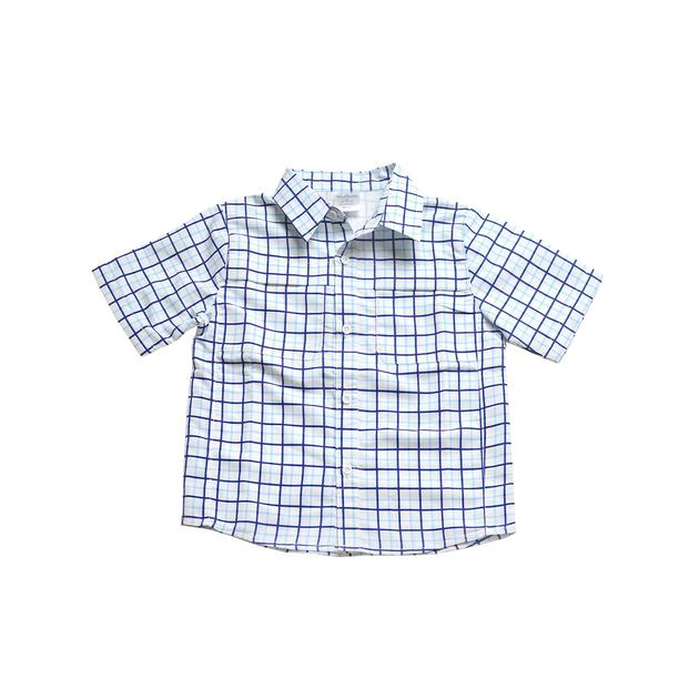 SHORT SLEEVE OUTDOOR SHIRT - SKY TATTERSALL - Made by McNamara