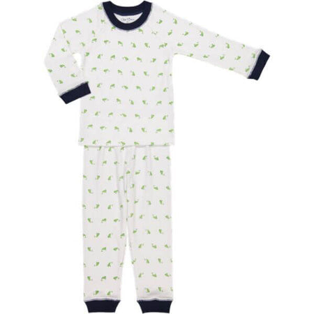 PIMA WHALE PJ SET - NAVY - Made by McNamara
