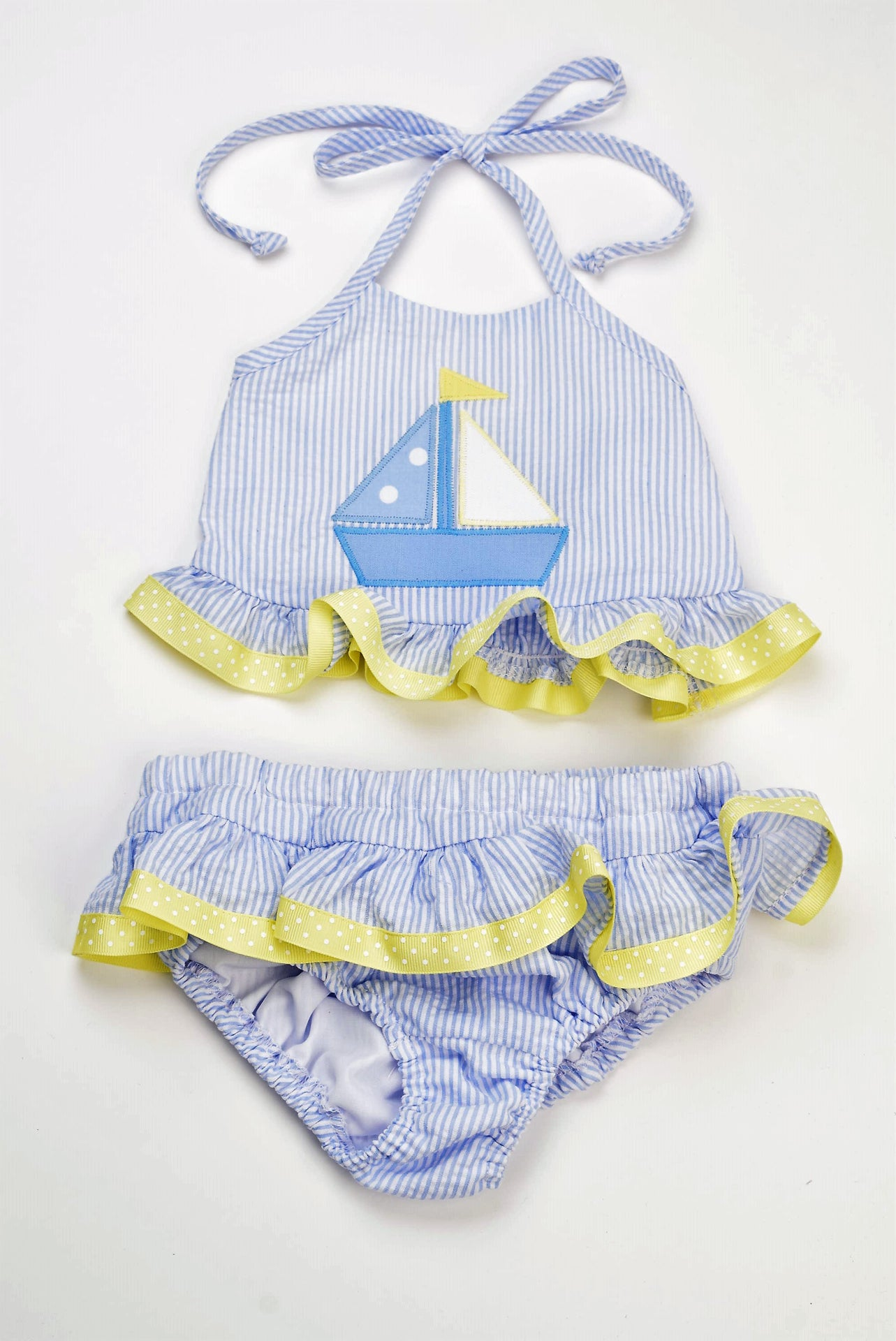 TWO PIECE SWIMSUIT - SAILBOAT - Made by McNamara