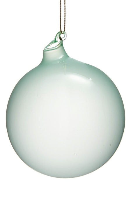 BUBBLEGUM GLASS ORNAMENTS - SEA MIST (120mm) - Made by McNamara