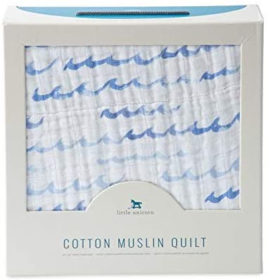 COTTON MUSLIN QUILT - HIGH TIDE