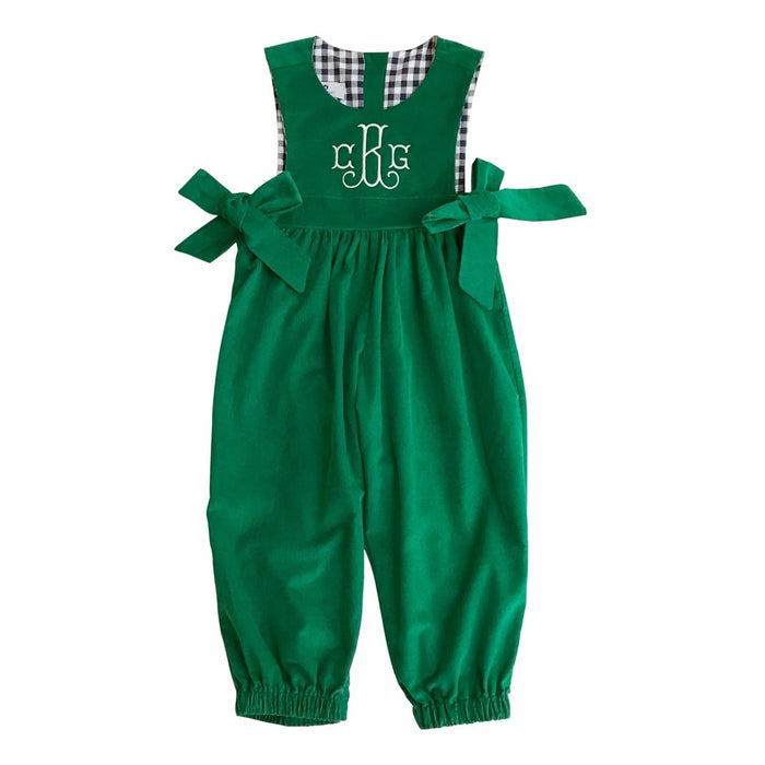 BOARDWALK ROMPER - GREEN - Made by McNamara