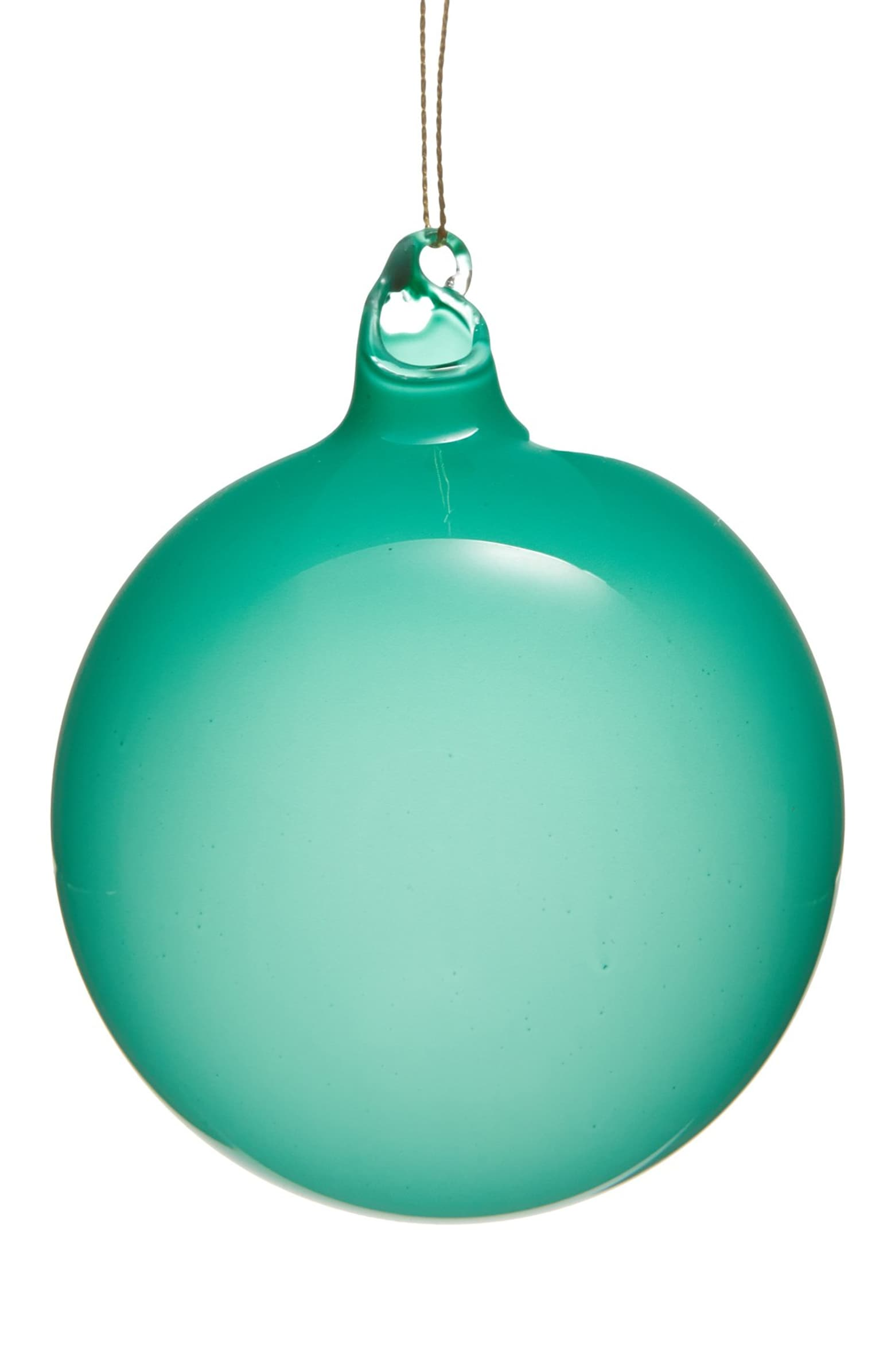BUBBLEGUM BALL ORNAMENTS - TURQUOISE (100mm x3) - Made by McNamara
