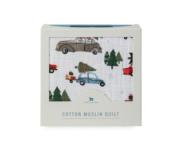 COTTON MUSLIN QUILT - HOLIDAY HAUL - Made by McNamara
