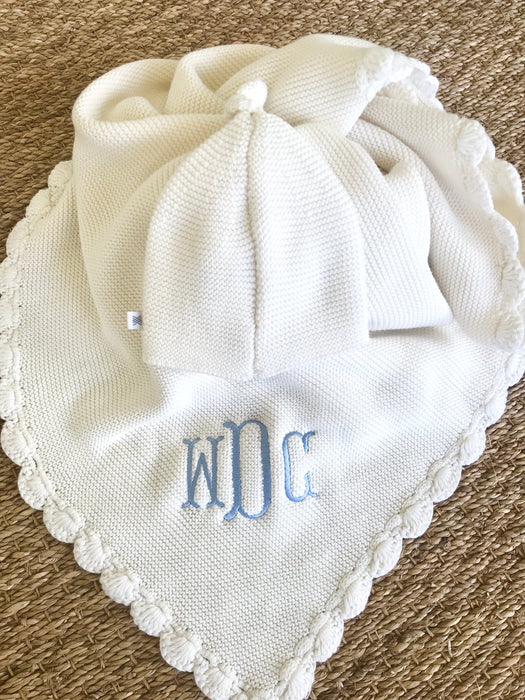 HEIRLOOM BABY BLANKET - Made by McNamara