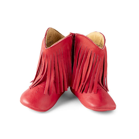 IRIS COWGIRL BOOTS - RED - Made by McNamara