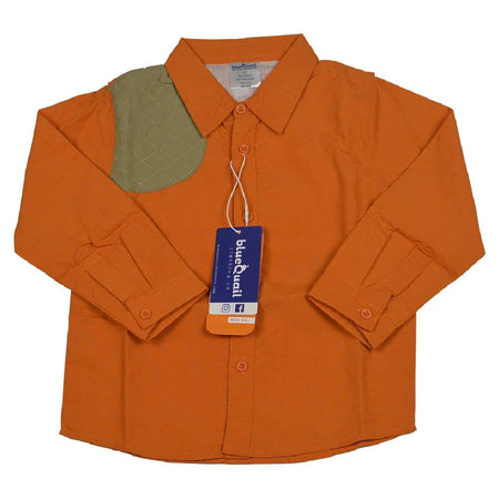 LONG SLEEVE SHOOTING SHIRT - ORANGE - Made by McNamara