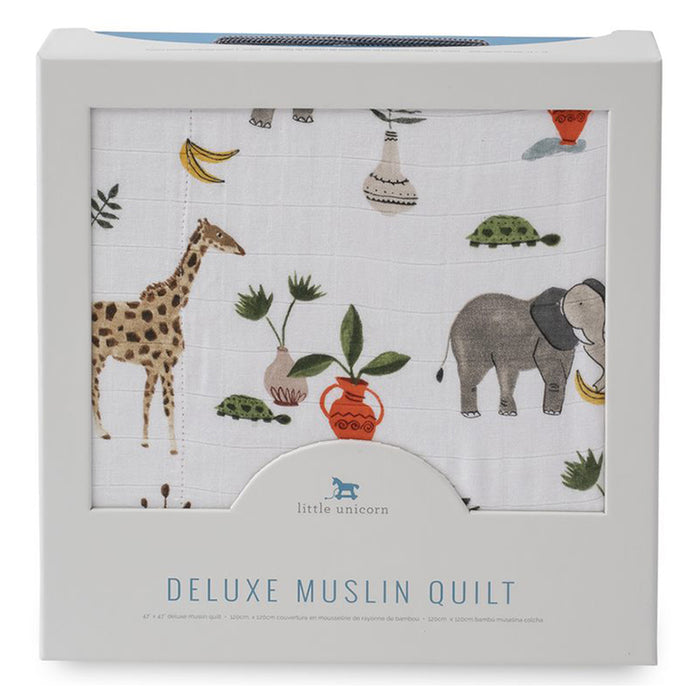 DELUXE MUSLIN QUILT - SAFARI - Made by McNamara