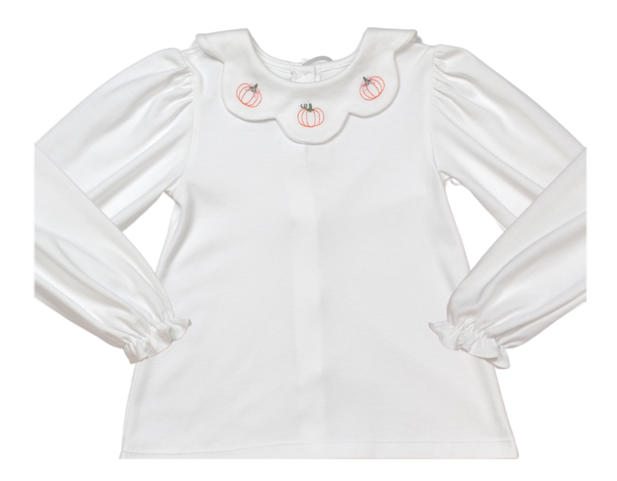 PICK OF THE PATCH - SCARLETT SCALLOP BLOUSE - Made by McNamara