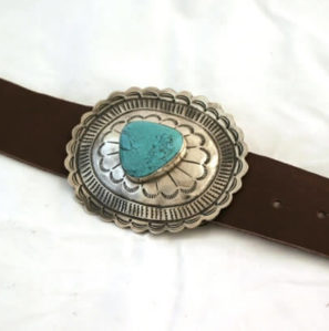 OVAL BELT BUCKLE - Made by McNamara