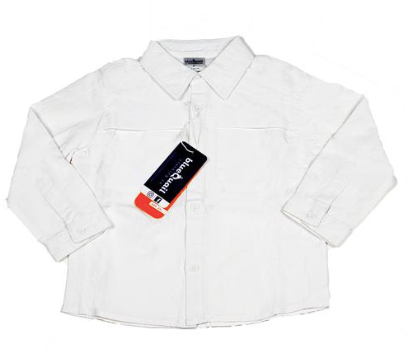 LONG SLEEVE OUTDOOR SHIRT - WHITE