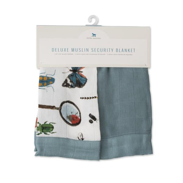 DELUXE MUSLIN SECURITY BLANKETS - BUGS - Made by McNamara