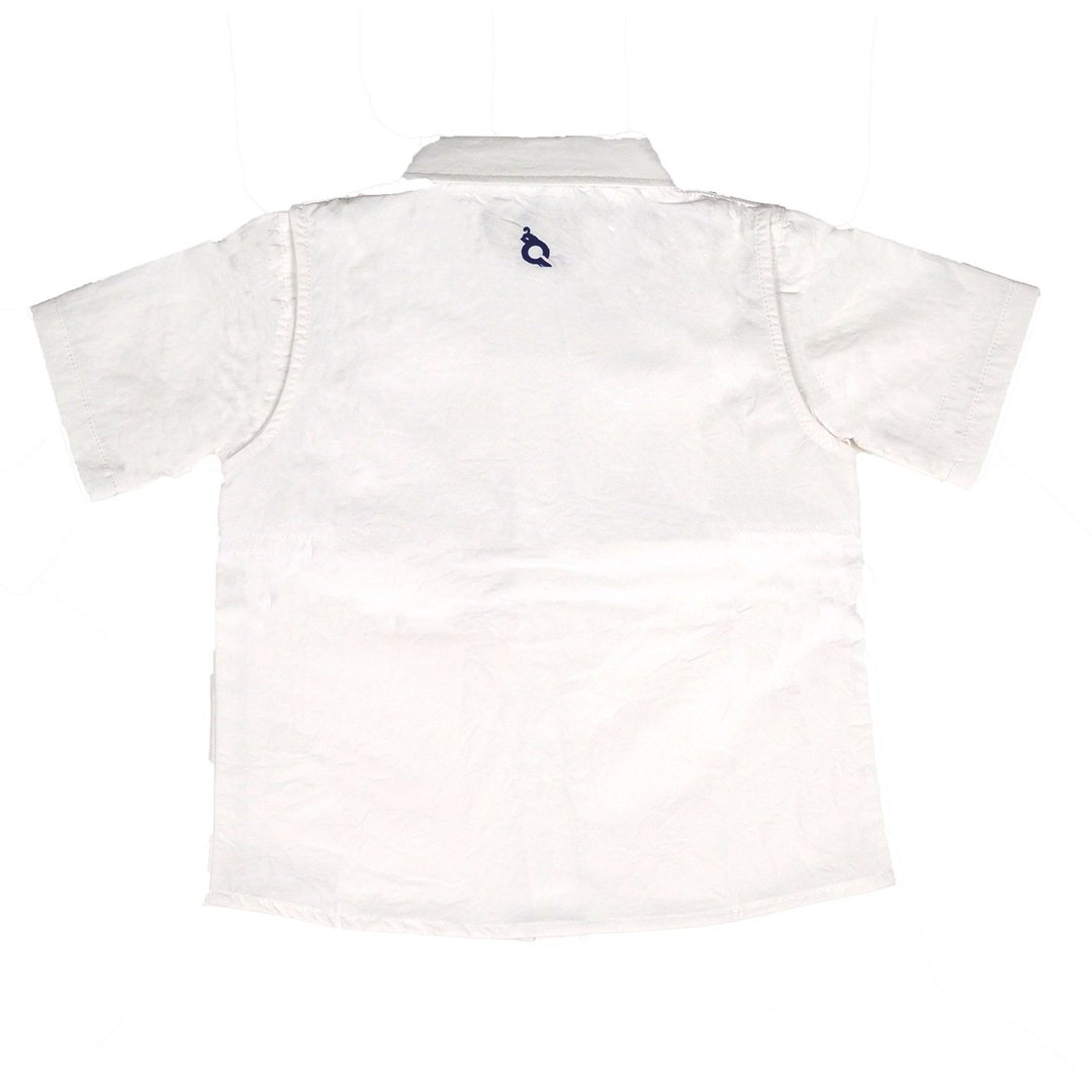 SHORT SLEEVE OUTDOOR SHIRT - WHITE - Made by McNamara