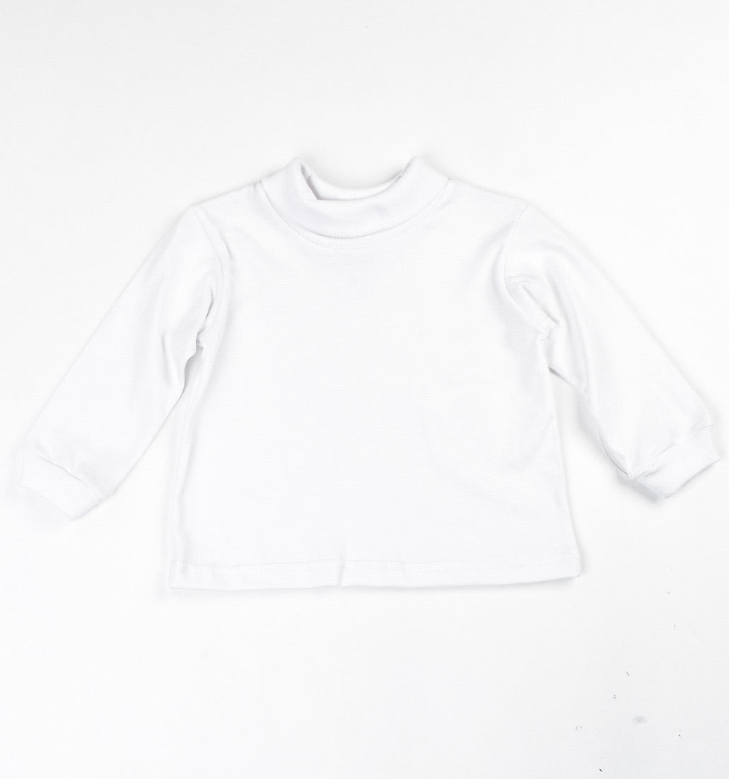 TURTLENECK - WHITE - Made by McNamara