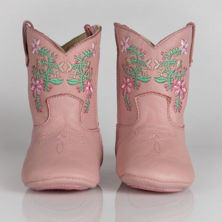 JULIET COWGIRL BOOTS - PINK - Made by McNamara