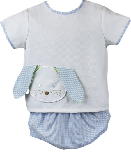 LITTLE BUNNY FOO FOO - ABBOTT DIAPER SET - Made by McNamara