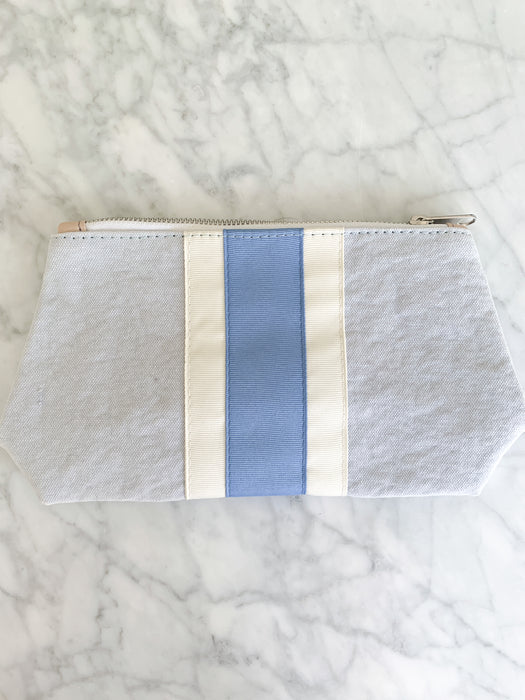 SMALL CANVAS COSMETIC BAG - Made by McNamara