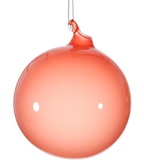 BUBBLEGUM GLASS ORNAMENTS - POMEGRANATE (100 mm x 3) - Made by McNamara