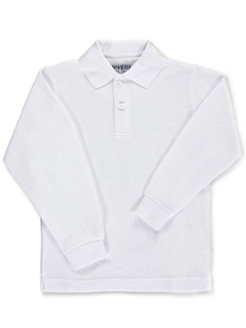 LONG SLEEVE POLO - WHITE - Made by McNamara