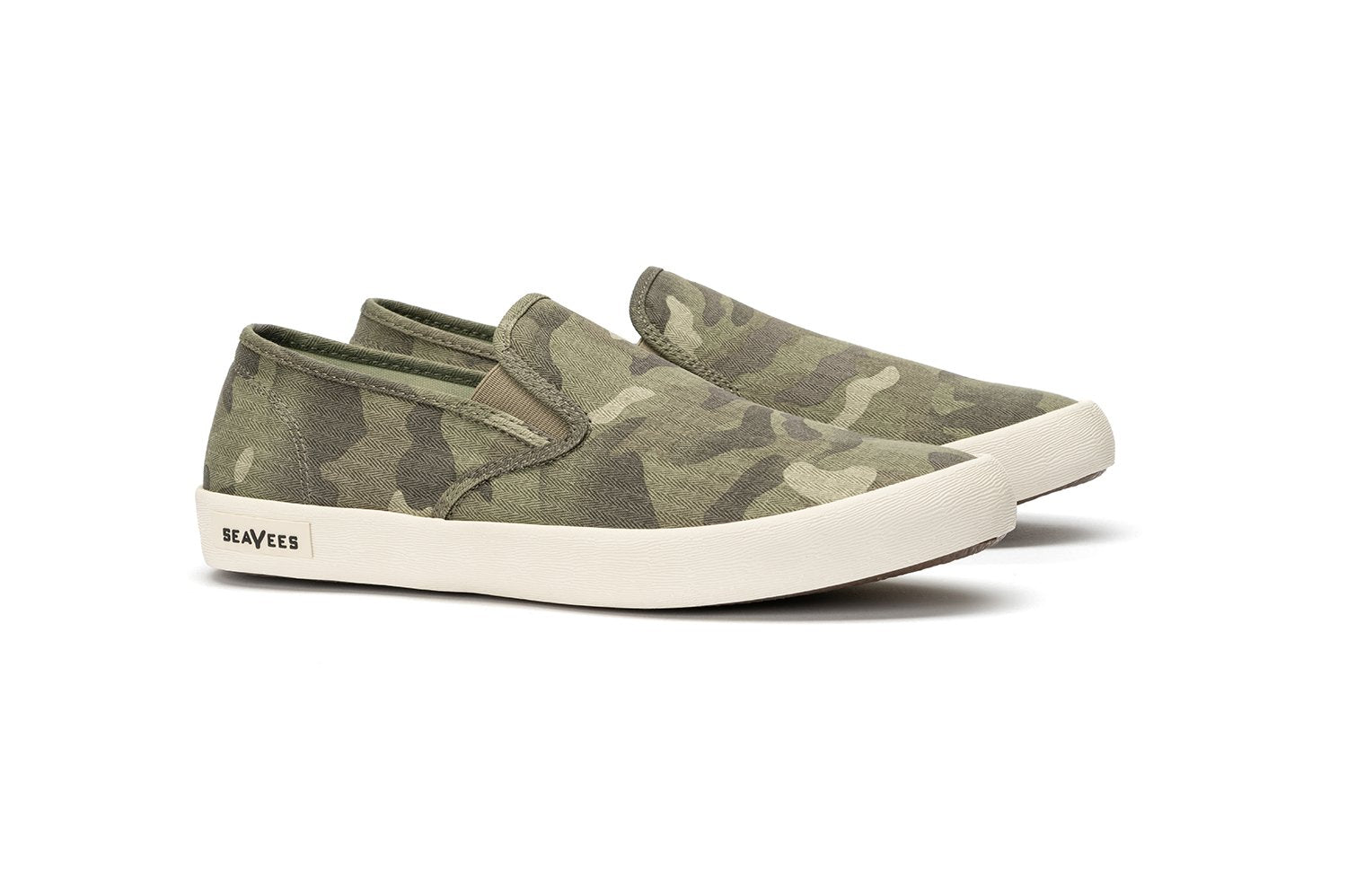 Mens - Baja Slip On Saltwash - Sage Camo
