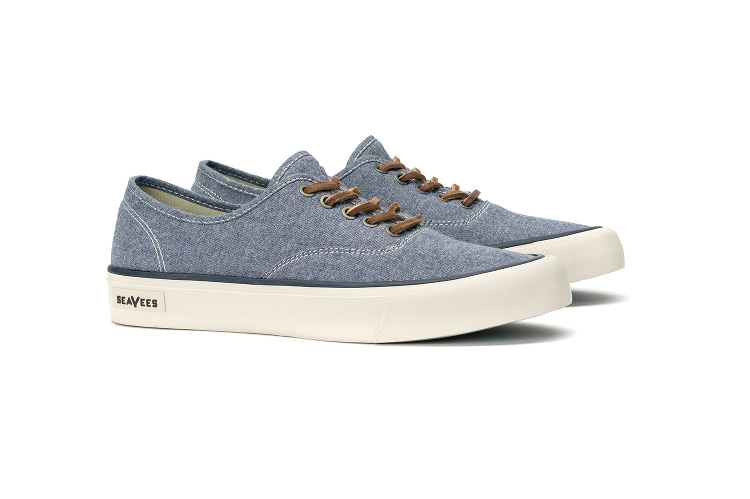 Mens - Legend Sneaker Chambray - Navy